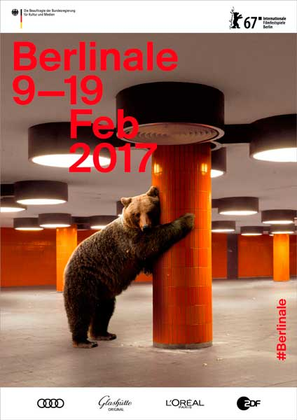 Il poster della Berlinale 2017 - Velvet Creative Office (c) Internationale Filmfestspiele Berlin