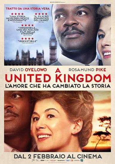 il poster italiano del film A United Kingdom