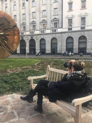 Pomodoro a Milano_la fotografa Giorgia Meroni