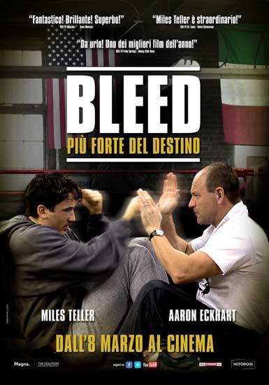 il poster italiano di BLEED