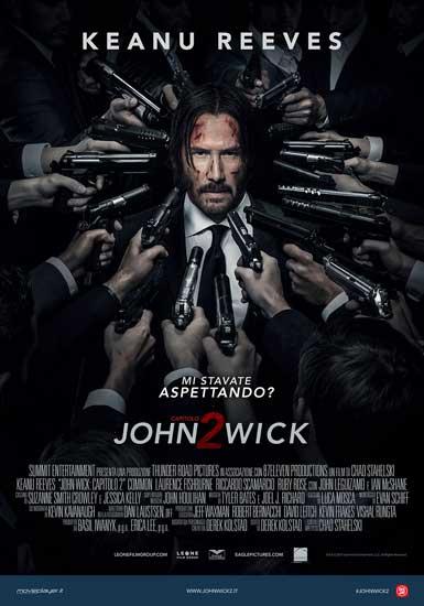 il poster del film John Wick Capitolo 2