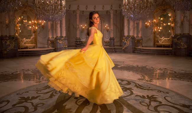 Emma Watson nel film La Bella e la Bestia - Photo: The Walt Disney Company
