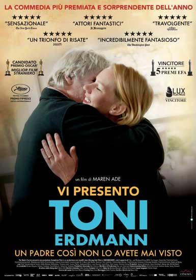 il poster italiano di Vi presento Toni Erdmann