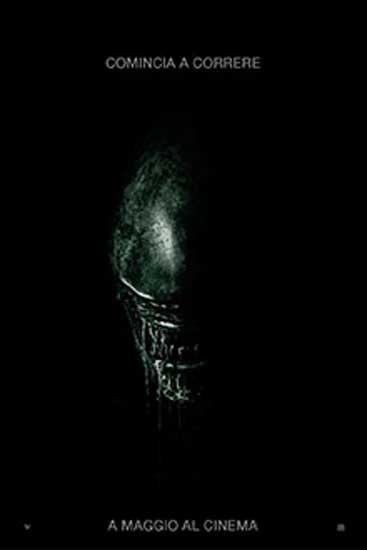 Il poster italiano del film Alien Covenant