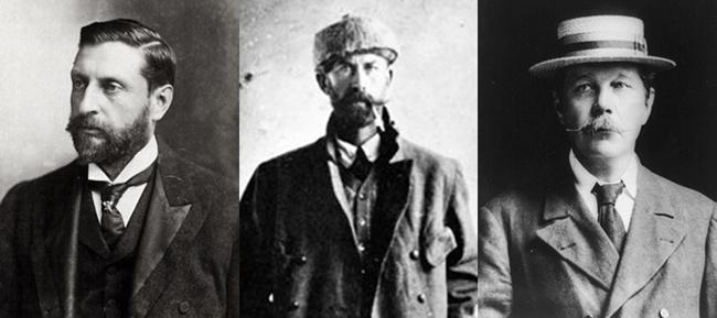 H. Rider Haggard - Percy Fawcett - Arthur Conan Doyle