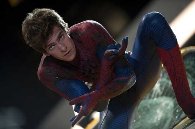 Andrew Garfield nel film The Amazing Spider-Man © 2012 - Sony Pictures. All rights reserved.