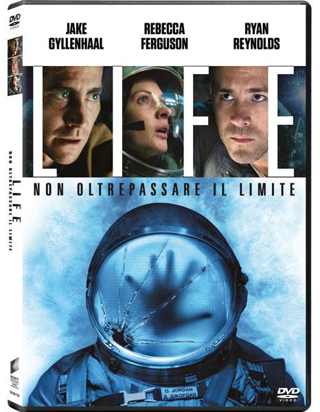 La cover del DVD di LIFE di Daniel Espinosa