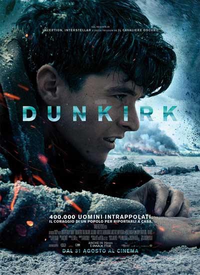 il poster italiano del film Dunkirk