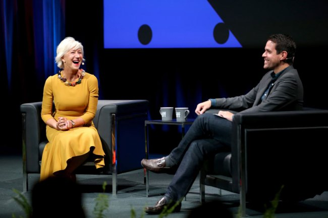 In Conversation With...Helen Mirren ICW Photo by Phillip Faraone:Getty Images TIFF 03