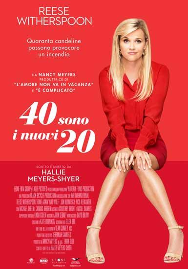 la locandina italiana del film 40 SONO I NUOVI 20