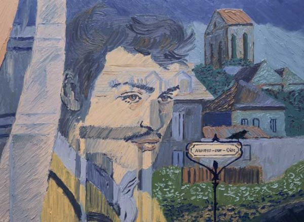 Loving Vincent - Armand Roulin (Douglas Booth) arriving in Auvers by train