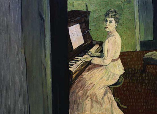 Loving Vincent - Marguerite Gachet (Saoirse Ronan) at the piano