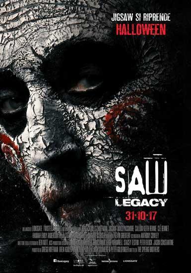 il poster italiano del film Saw Legacy