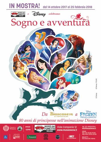 il poster della mostra Sogno e avventura