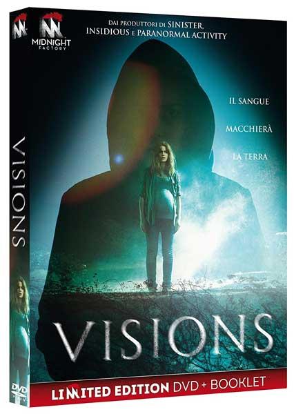 la cover del DVD del film Visions