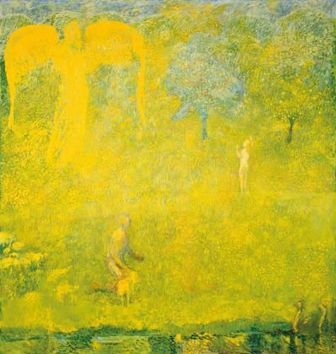 Cuno Amiet, Paradiso, 1958
