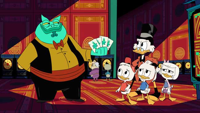 Un'immagine tratta dalla serie televisiva Ducktales (2017) - Ph: courtesy of The Walt Disney Company Italia