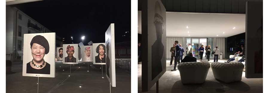 l'esterno della mostra Oliviero Toscani Immaginare (c) Giorgia Meroni