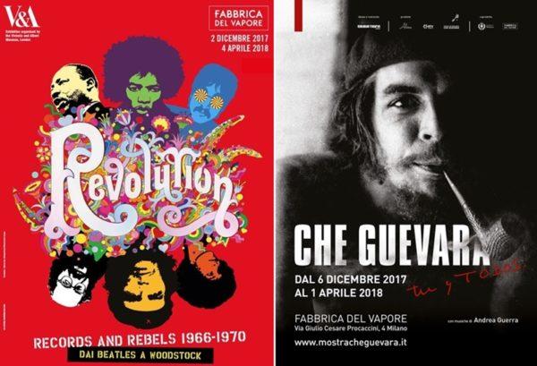 Alla Fabbrica del Vapore Rivoluzioni pacifiche e di lotta popolare.