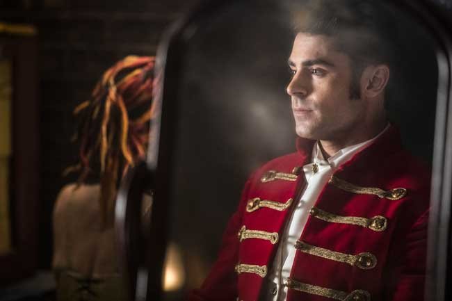 Zac Efron in una scena del film The greatest Showman - Photo: courtesy of 20th Century Fox Italia