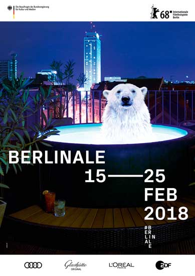 il poster della Berlinale 2018 © Internationale Filmfestspiele Berlin / Velvet Creative Office