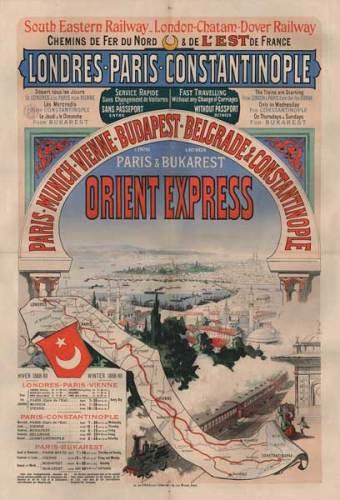 l'affiche originale dell'Orient Express