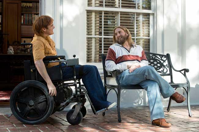 Joaquin Phoenix e Jonah Hill nel film Don't Worry, He Won't Get Far on Foot © 2018 AMAZON CONTENT SERVICES LLC / Scott Patrick Green