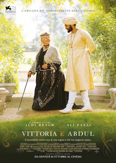 la locandina del film Vittoria e Abdul