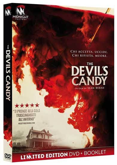la cover del DVD del film horror The Devil's Candy