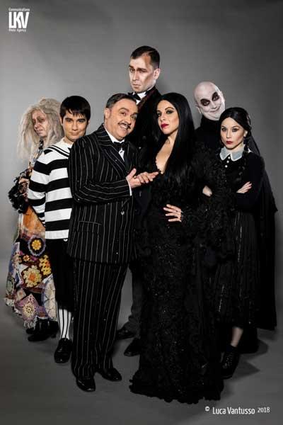 il cast del musical La Famiglia Addams - Foto © 2018 Luca Vantusso