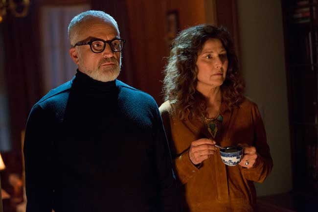 Catherine Ann Keener e Bradley Whitford nel film Get Out - Photo: courtesy of Universal Pictures