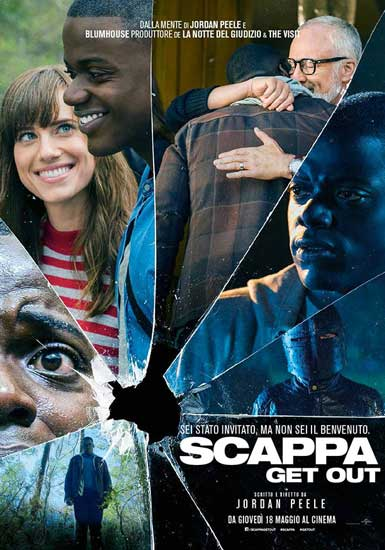la locandina italiana del film Scappa - Get Out