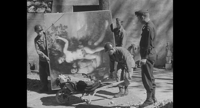 Hitler contro Picasso e gli Atri - La liberazione di Berchtesgaden e il recupero della collezione Goering ad opera della 101st Aiirbone Division - Photo: courtesy of National Archives Records Administration