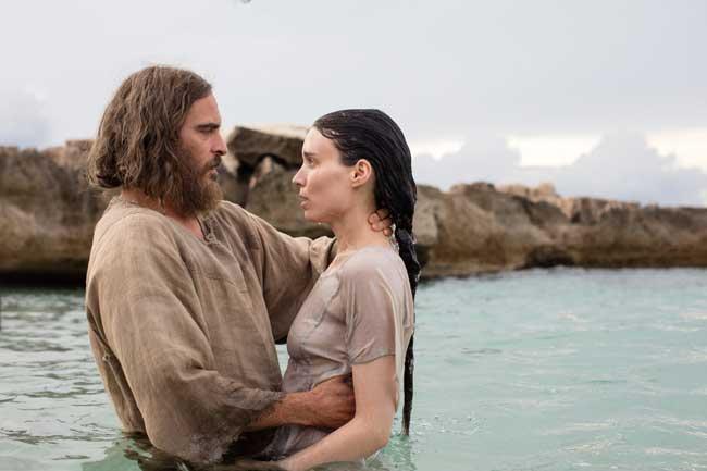oaquin Phoenix e Rooney Mara nel film Maria Maddalena - Photo: courtesy of Universal Pictures