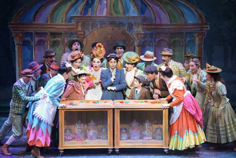 Mary Poppins il musical - foto di Alessandro Pinna