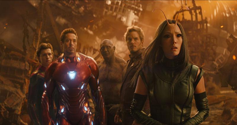 Alcuni dei protagonisti di Avengers: Infinity War - Photo: MARVEL STUDIOS
