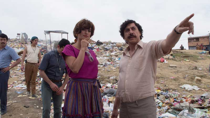 Penelope Cruz e Javier Bardem nel film Escobar Il fascino del male - Photo: courtesy of Notorious Pictures