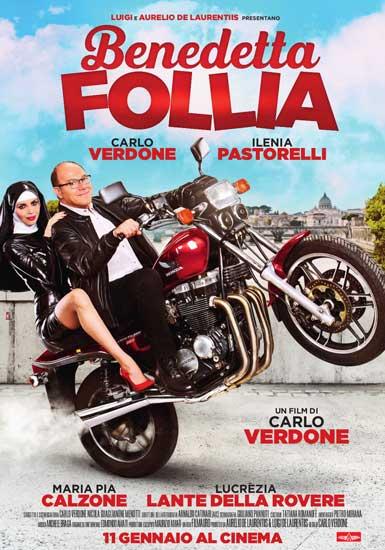 il poster ufficiale del film Benedetta Follia
