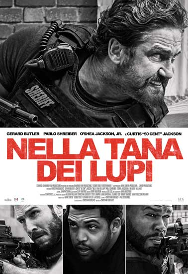 il poster italiana del film Nella Tana dei Lupi
