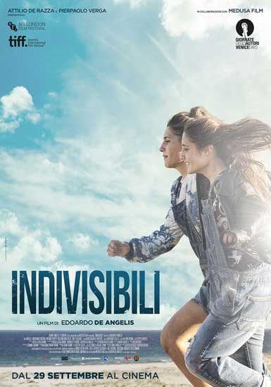 la locandina del film Indivisibili di Edoardo De Angelis