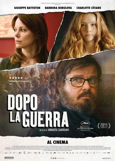 la locandina italiana del film Dopo la guerra