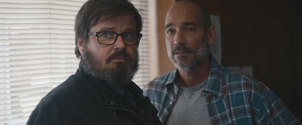 Giuseppe Battiston e Jean-Marc Barr nel film Dopo la guerra - Photo courtesy of I Wonder Pictures