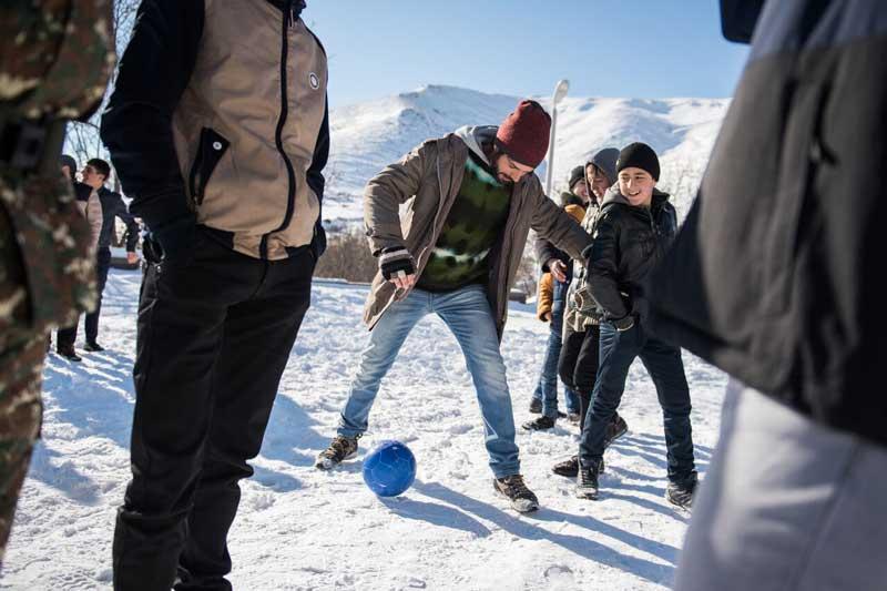 Luca Argentero nel film Hotel Gagarin - Photo: Andrea Miconi