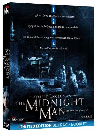 la cover del blu-ray del film horror The Midnight Man