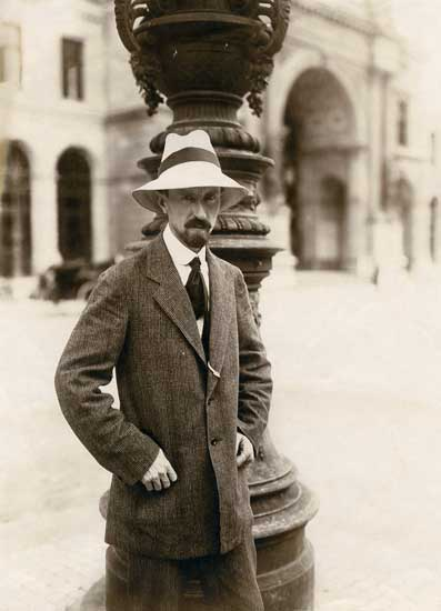 Carl Burckhardt, Firenze, aprile 1922 - Photo by Nachlass Carl Burckhardt