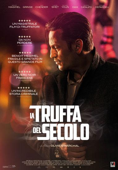 Il poster italiano del film La Truffa del Secolo