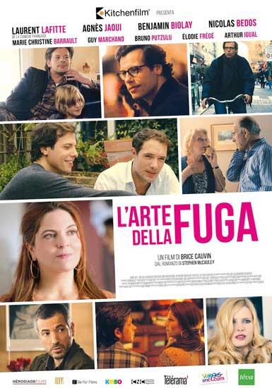 La locandina italiana del film L'arte della fuga