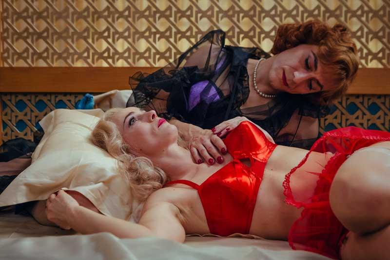 Lucia Mascino e Filippo Timi in una scena del film Favola - Photo: courtesy of Nexo Digital
