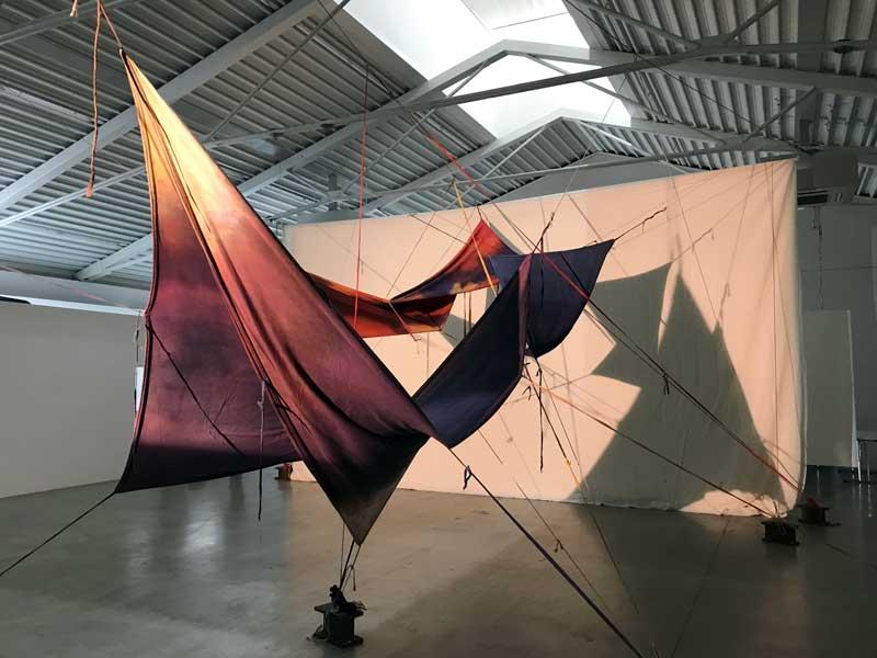 l'installazione di Sandro Martini allo Spazio Officina di Chiasso - Photo by MaSeDomani