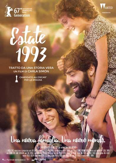 la locandina italiana del film Estate 1993